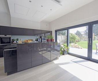 Energieeffizienthaus KfW 70 Wohnbereich - Ingenieurbüro Weick Detmold